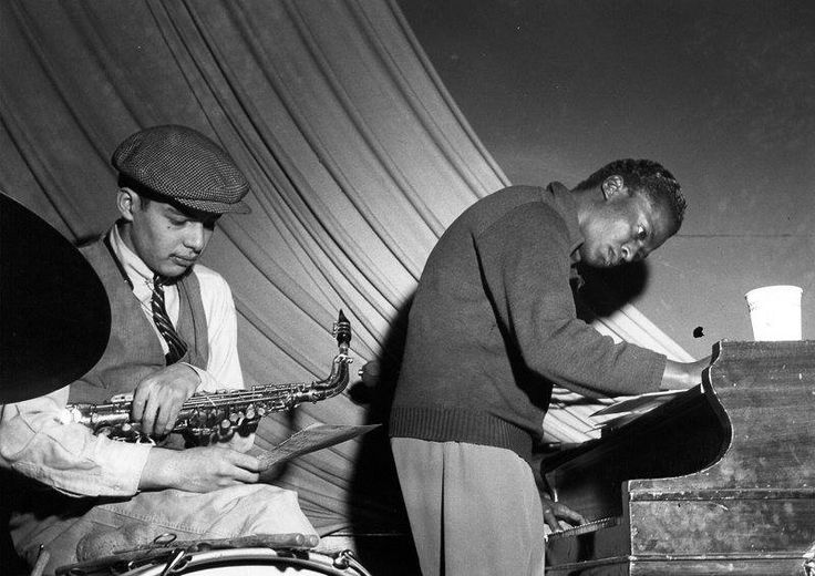 Jackie McLean and Miles Davis, photo Francis Wolff