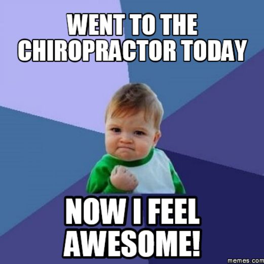 Oh yeah! Give Sonnier Chiropractic Clinic a call today at (225) 766-2952 and start feeling your best! #SonnChiro #chiropractic #ZacharyLA #BatonRougeLA