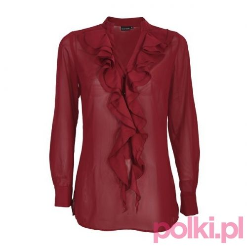 Czerwona bluzka Bonprix #polkipl