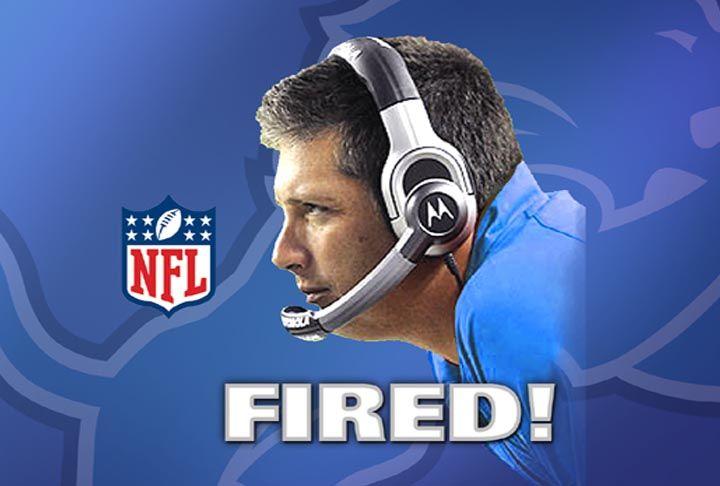 BREAKING: Detroit Lions Head Coach Jim Schwartz Has Been Fired