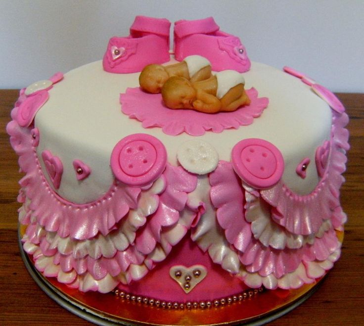 159 Best Images About Baby Shower Cake For Twins On