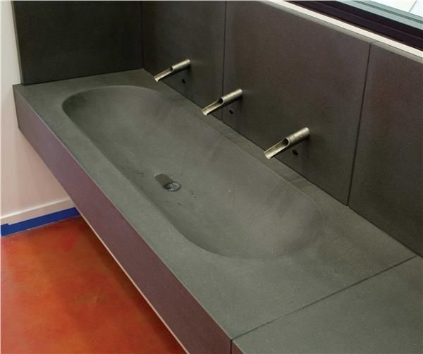 Large Laundry Trough : ... Trough Sinks on Pinterest Cement bathroom, Basin sink and Trough