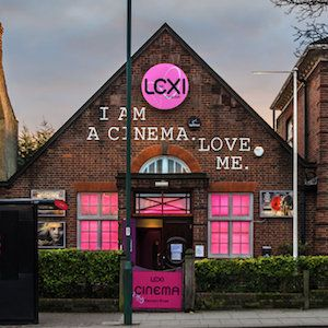 Lexi Cinema - Kensal Rise - 100% of profits go to charity - independent & commercial films - has a bar - £11 tickets - can also buy membership