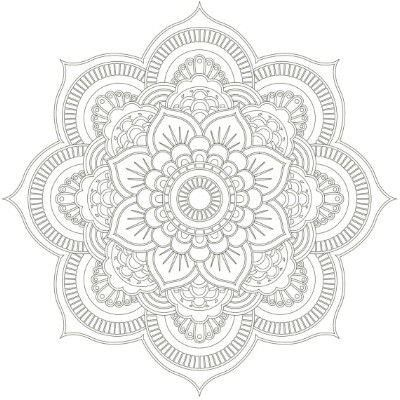 23 besten Mandalas Tumblr • Bilder auf Pinterest | Malbücher ...
