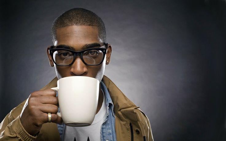 Tinnie Tempah doesnt like his tea in 'tinnie' cups!
