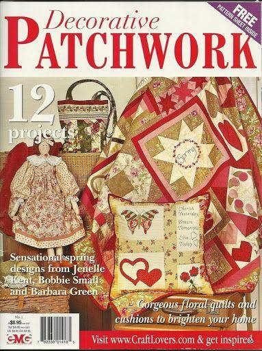 Decorative Patchwork - Denise Moraes - Álbumes web de Picasa