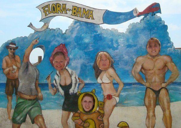 Student Kirstie on exchange in the US. #StudentExchange #America #Beach