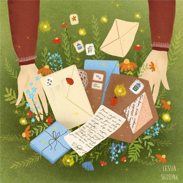Вам письмо открытки вк, открытки поэтапно картинки