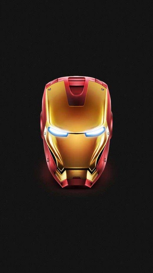 Iron Man Helmet iPhone 5(s) Wallpaper >>> Click for original size <<<