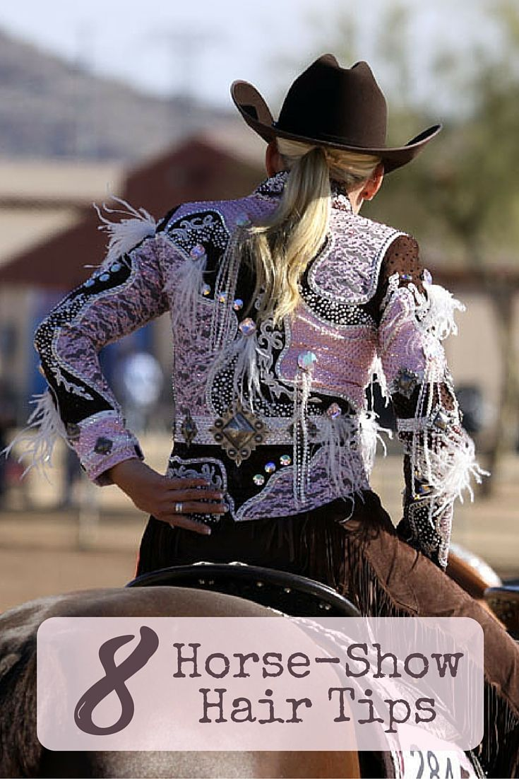 Style your hair just right for your next show with these eight tips on horse-show hair.