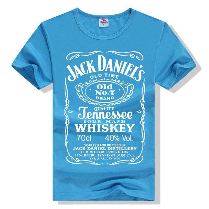 Free shipping Hot sale New JACK DANIELS,OLD black man cultivate one's morality round collar short sleeve men T-shirt 2016 Wish