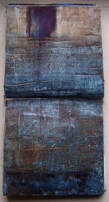 I'm searching III, carnet de travail Pigments by Élisabeth Couloigner #sketchbook #art