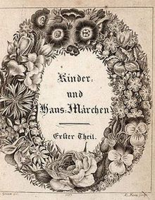 (This is a picture of the first copy of the Grim Brothers fairy tales) This is an example of German folklore. One of the most famous stories is Cinderella.