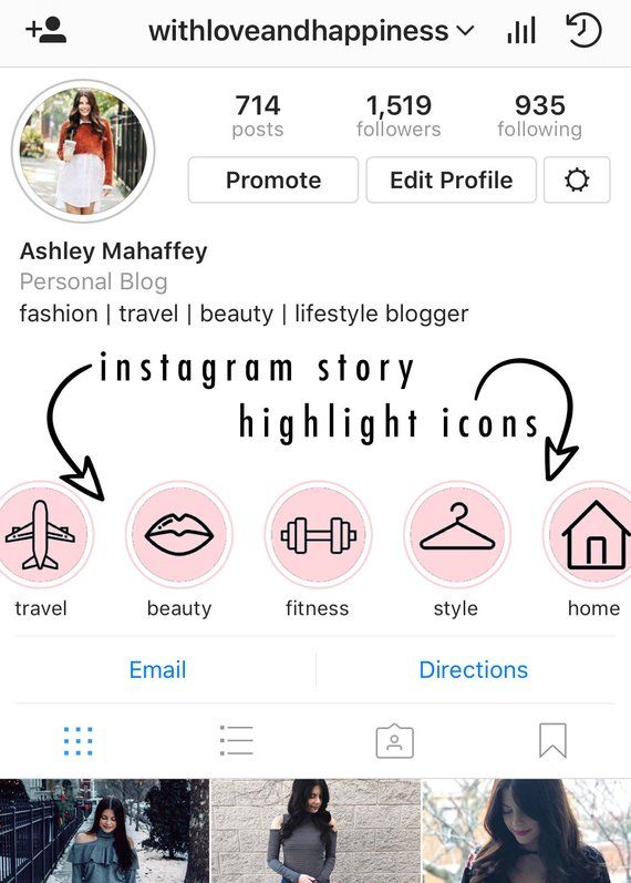 instagram story highlight icons - blush / pink - ready to download