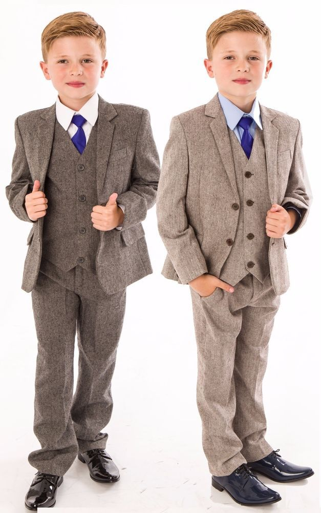 Vivaki Boys Tweed Suit, 4 Piece Boys Wedding, Page Boy, Party Outfit, 0/3 Months To 12 Years. £ - £ Prime. ARAUS Tuxedo Gentlemen Suit for Baby Boy Christening Suit Infant Formal Romper Baptism Outfit Clothes Month. £ - £ Prime. out of .