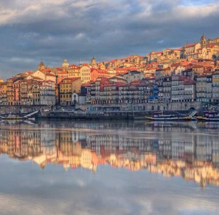 Porto, Douro River, Ribeira, Portugal