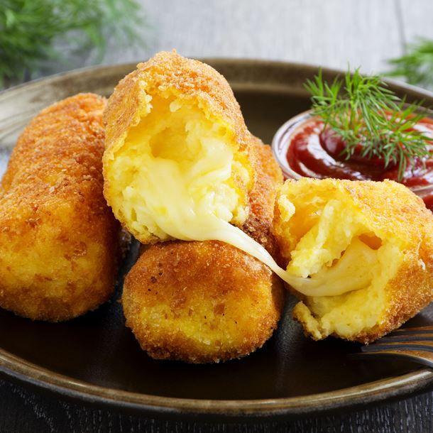Croquettes de polenta au fromage