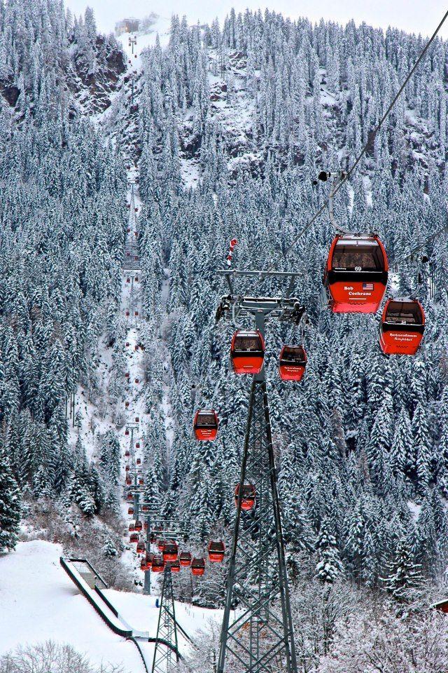 Winter Vacation - World Famous Winter Resorts - Kitzbuhel, Austria #seasonjobs #winter #winterresort