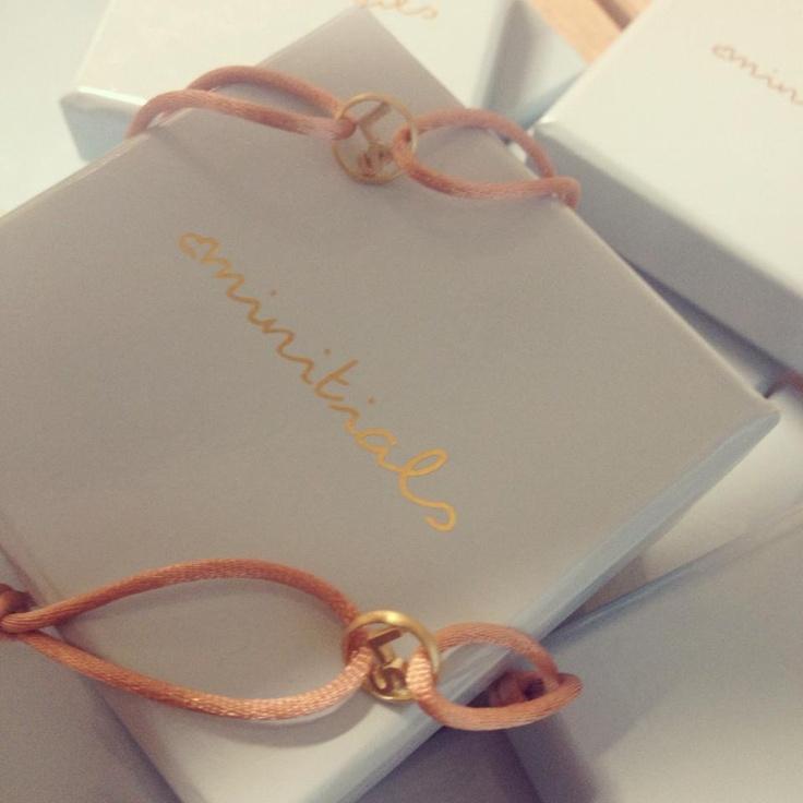 Minitials customized bracelets