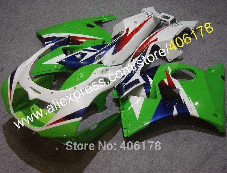 Hot Sales,Butterfly Lamp Fairing For Kawasaki ZXR250R 90-98 ZXR250 ZXR 250R Ninja 1990-1998 Multi-color Motorcycle fairings