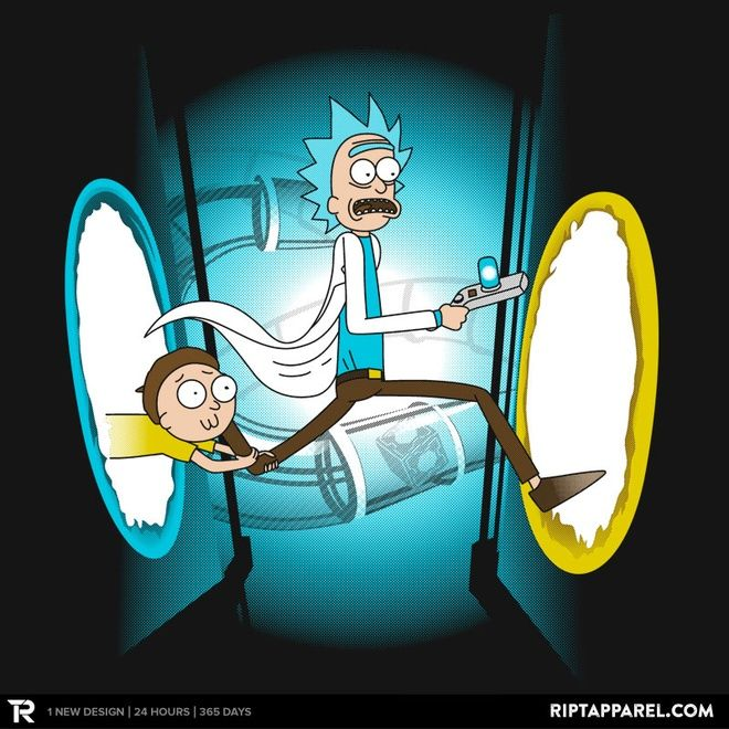 Rick and Porty T-Shirt $10 Rick and Morty tee at RIPT today only!