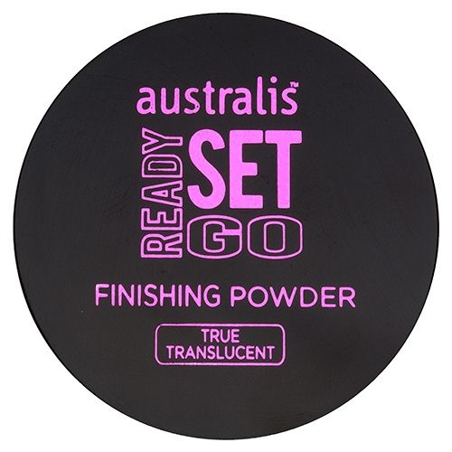 Australis Cosmetics Translucent Finishing Powder (Improves the wear, sets your foundation, softens the appearance of imperfections and blurs fine lines. The oil- absorbing formulation keeps pores and uneven surface texture concealed while maintaining skin's natural moisture). $13.95
