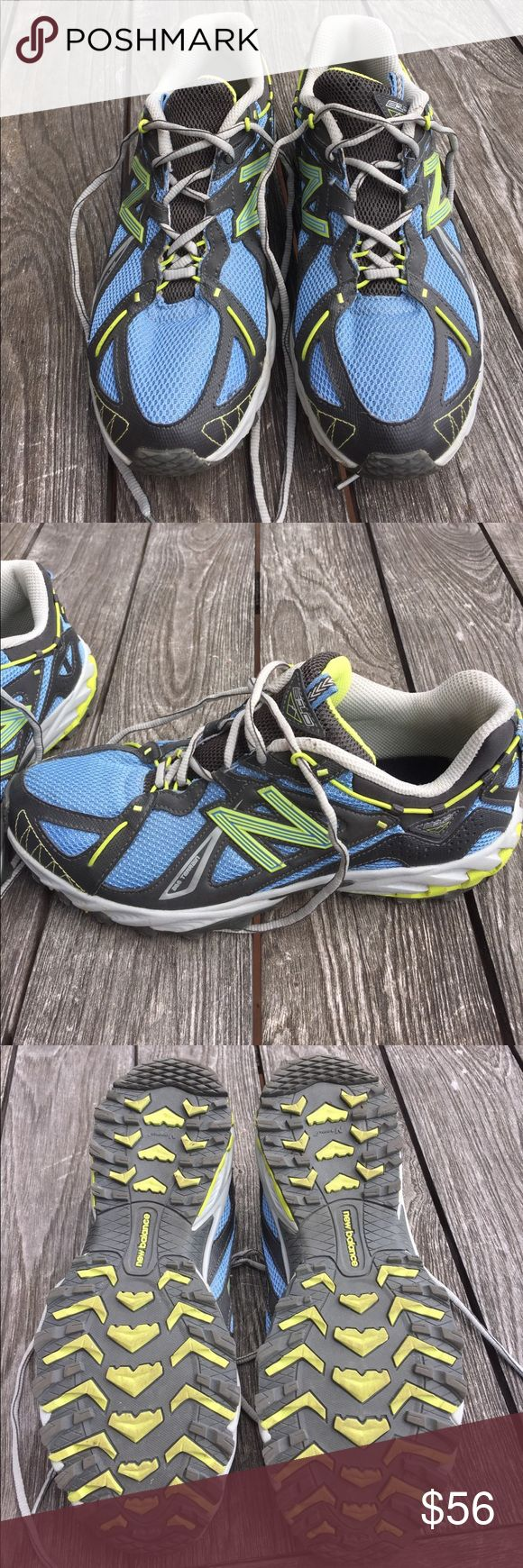 New balance trail sneakers Great condition, only worn once! New Balance Shoes Sneakers