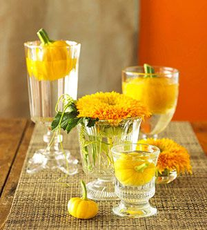 Harvest Table Decorations from Better Homes and Gardens