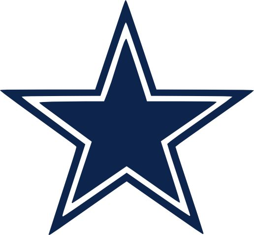 32 best dallas cowboys printables images on pinterest for Dallas cowboys star tattoo