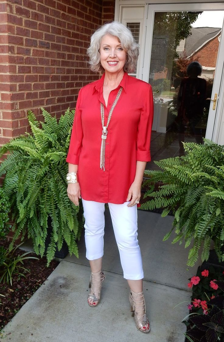 Top ideas for red pants - Capri Outfit Ideas For Over 50 1000 Ideas About Over 60 Fashion On Pinterest