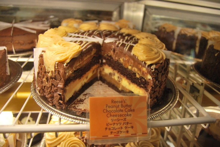 reese's peanut butter chocolate cake cheesecake - cheesecake factory waikiki