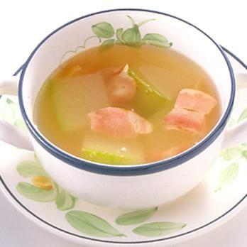 とうがんのスープ | 石原洋子さんのスープの料理レシピ | プロの簡単料理レシピはレタスクラブニュース