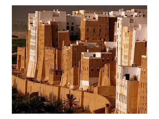 Shibam, Yemen: mud skyscraper city from the 2nd century