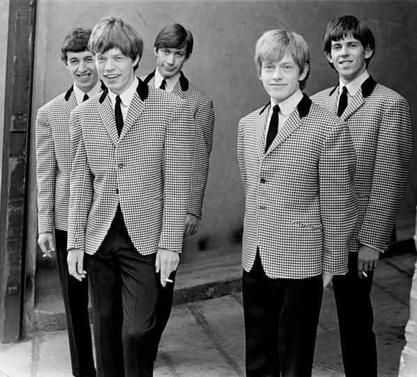 The Rolling Stones in 1963.