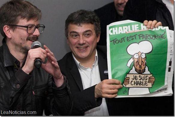 Charlie Hebdo explicó qué significa la portada de su nuevo número - http://www.leanoticias.com/2015/01/13/charlie-hebdo-explico-que-significa-la-portada-de-su-nuevo-numero/