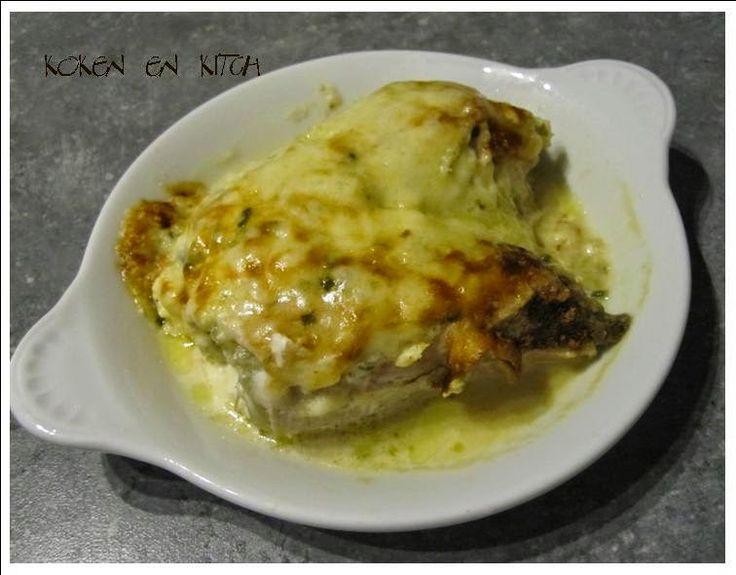 Koken en Kitch: Witloof met boursin en kipfilet uit de oven
