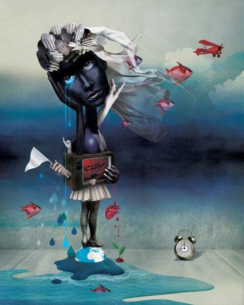 caitlin truman-baker. 'surrender' #digitalart