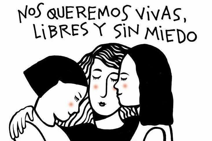 Ni Una Menos En Toda América Latina Feminismo Frases