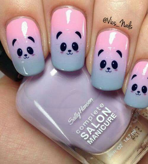 25 unique panda nail art ideas on pinterest clean nails panda the easy nail art designs compilation 2015 nails tutorial part 17 prinsesfo Choice Image