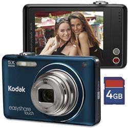 Câmera Digital Kodak Easyshare - M5370 16 MP Touch Azul, Estabilizador de Imagem e Face Detection