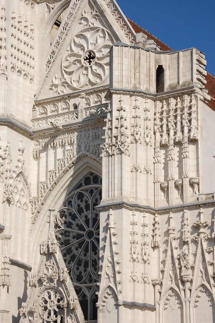 Cathédrale Saint-Étienne à Auxerre.