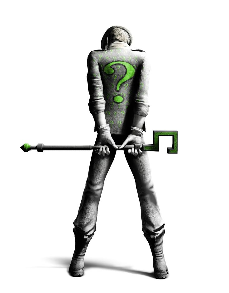 riddler arkham city - Google Search