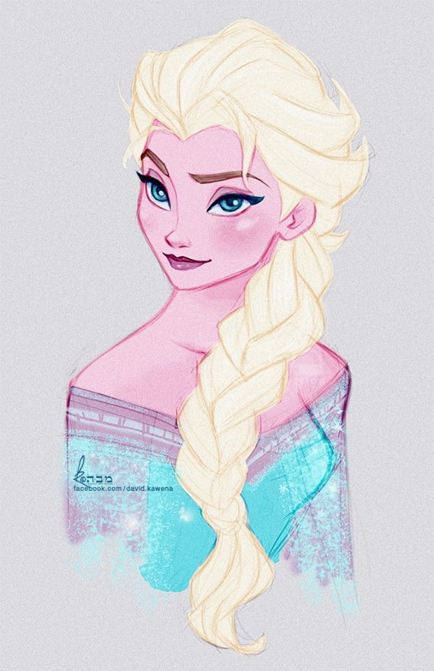 Queen Elsa by David Kawena ✤    CHARACTER DESIGN REFERENCES   キャラクターデザイン • Find more at https://www.facebook.com/CharacterDesignReferences if you're looking for: #lineart #art #character #design #illustration #expressions #best #animation #drawing #archive #library #reference #anatomy #traditional #sketch #development #artist #pose #settei #gestures #how #to #tutorial #comics #conceptart #modelsheet #cartoon    ✤