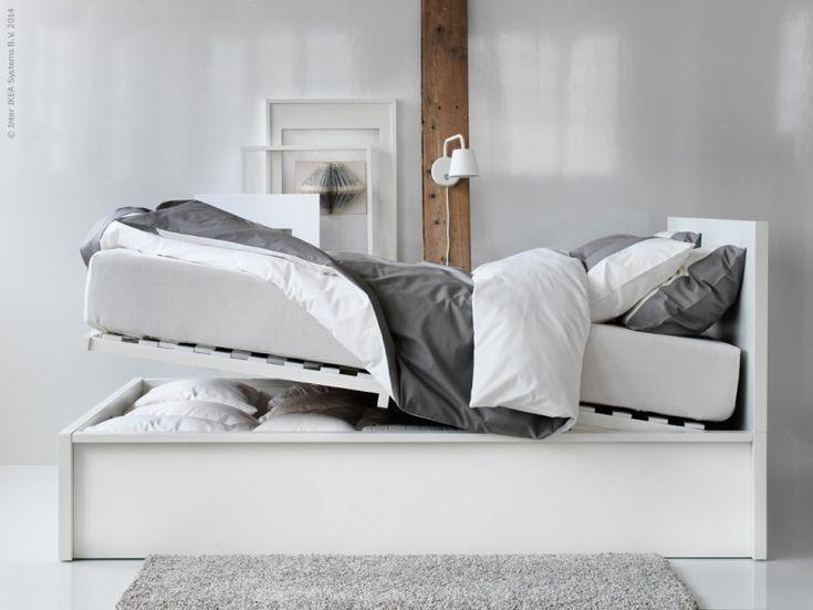 Uppkopplad Men Avkopplad Livet Hemma Ikea Storage Bedbed