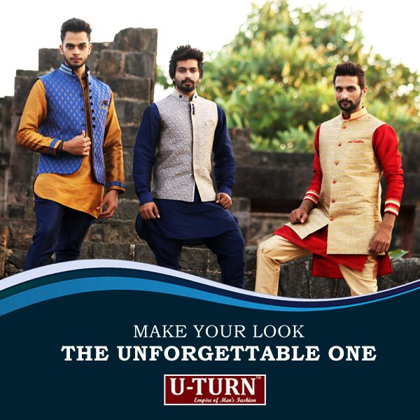The #jacket is crafted for accompanying the grand look with our #wardrobe masterpieces for all #occasions making your look the unforgettable one.  Shop the originals from your nearest U TURN store.