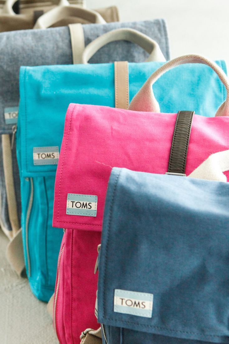 Each TOMS Bag purchase = a safe birth for a mother and baby in need. Click through to shop our entire collection of backpacks and bags that give back.