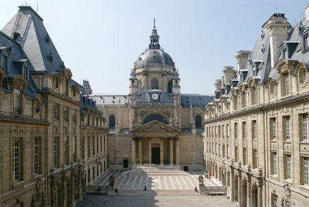 Chapelle de la Sorbonne vue de la cour d'honneur (Olivier Jacquet / Paris-Sorbonne)