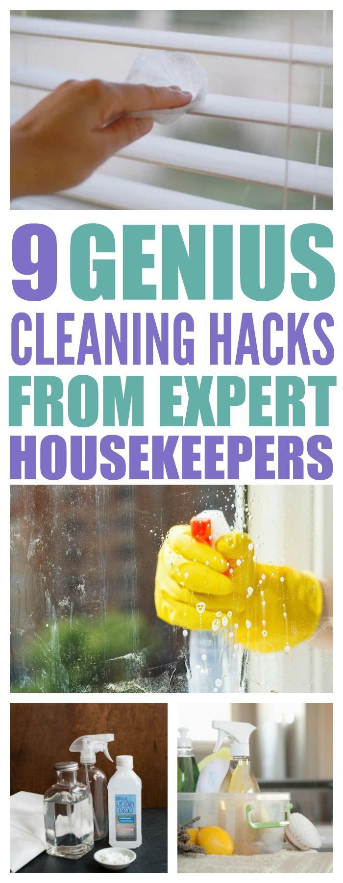 9 Genius Cleaning Hacks Used By Professional Housekeepers - That Vintage Life