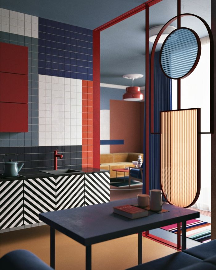 1001 Ideen Zum Thema Welche Farbe Passt Zu Rot Haus Deko Zimmer Produktdesign