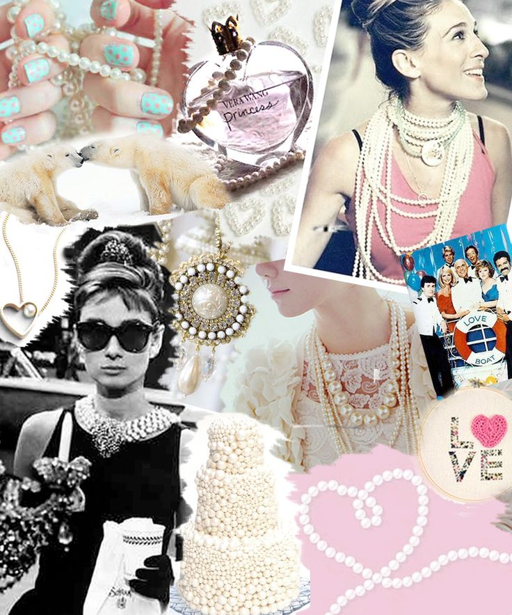 Love Pearls!: Inspiration, Style, Pearls, Audreyhepburn, Collage, Girly Girl, Accessories, Classic